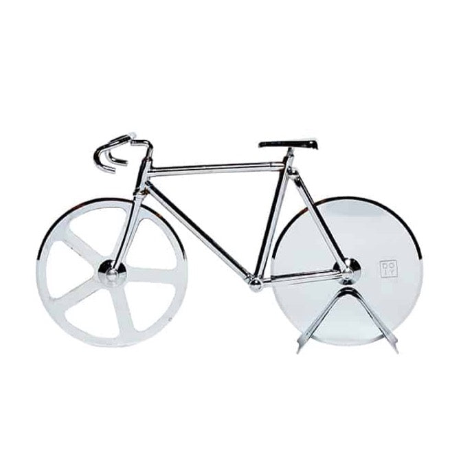 Bicycle Pizza Cutter / Silver