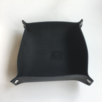 Large Valet Tray in Black