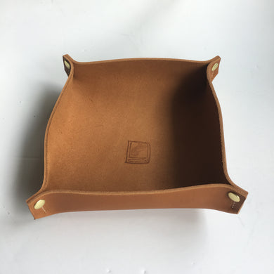Large Valet Tray in Sienna