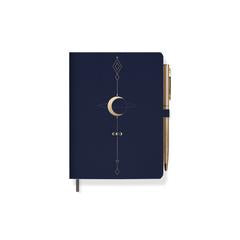 MOON TATTOO JOURNAL WITH SLIM PEN