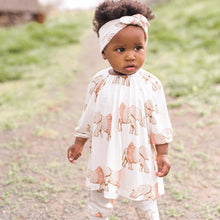 Load image into Gallery viewer, LONG SLEEVE DRESS AND LEGGING SET TUTU ELEPHANT 12-18M