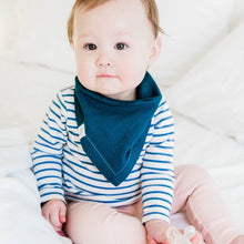 Load image into Gallery viewer, BABY BOY BANDANA BIB