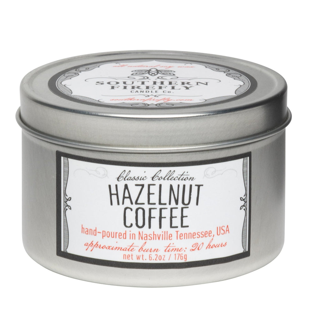 Hazelnut Coffee Travel Tin