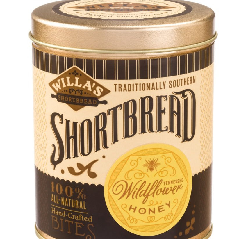 Wildflower Honey Shortbread Tin