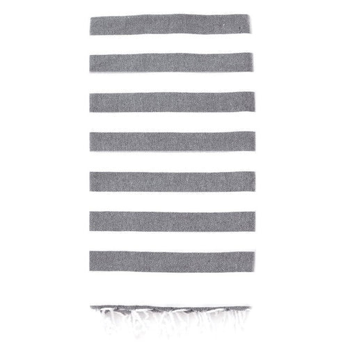 Rugby Towel - Slate Dark Gray