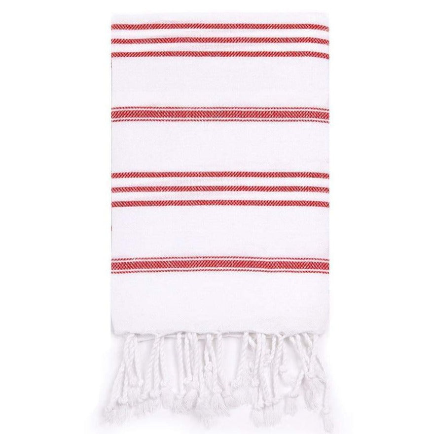 Basic Hand Towel Candy Cane