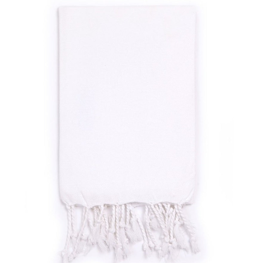 Basic Hand Towel White