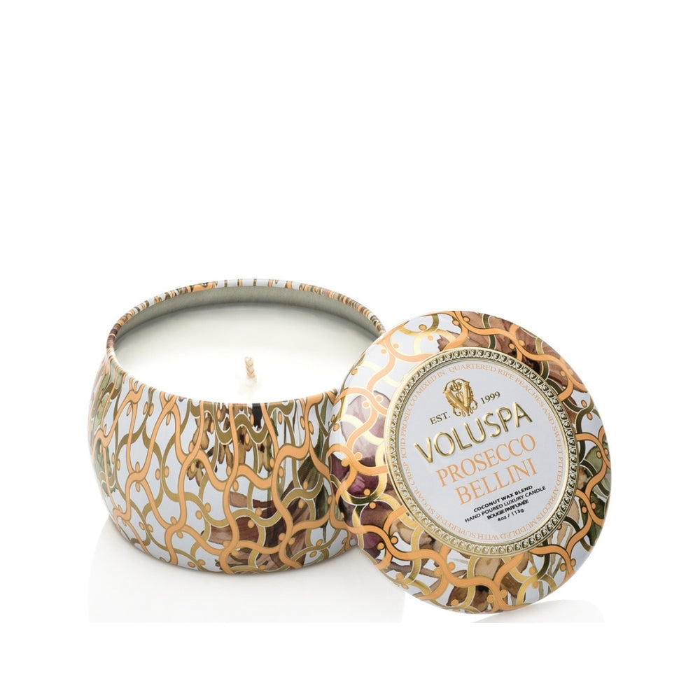 Prosecco Bellini Mini Decorative Tin