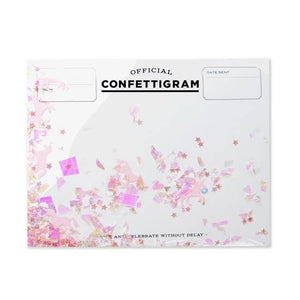 Unicorn Confettigram