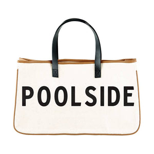 Canvas Tote - Poolside