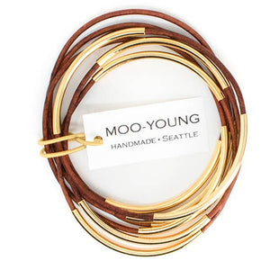 Skinny Bangles Honey Gold
