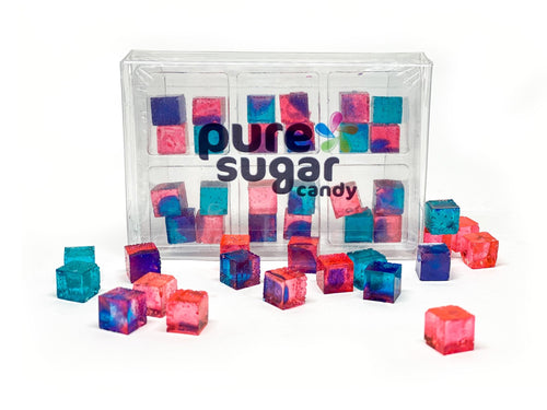 Candy Cubes Cotton Candy 6 pack tray