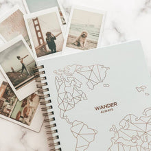 Load image into Gallery viewer, Wander Always: Travel Planner & Journal