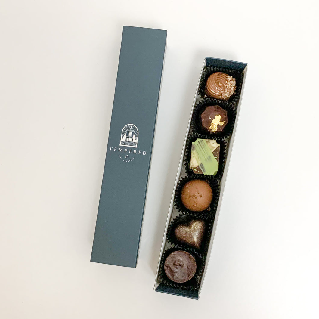 6-PIECE TRUFFLE BOX
