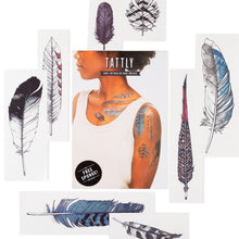 Load image into Gallery viewer, Watercolor Feather Set