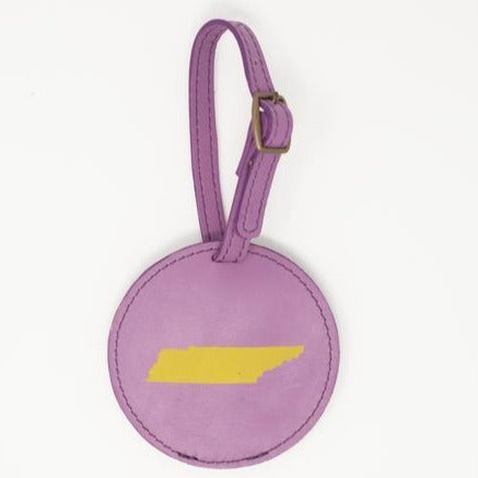 Tennessee Luggage Tag- Lavender