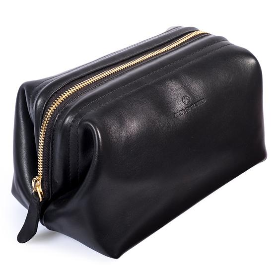 Lewis Toiletry Bag (Jet Black)