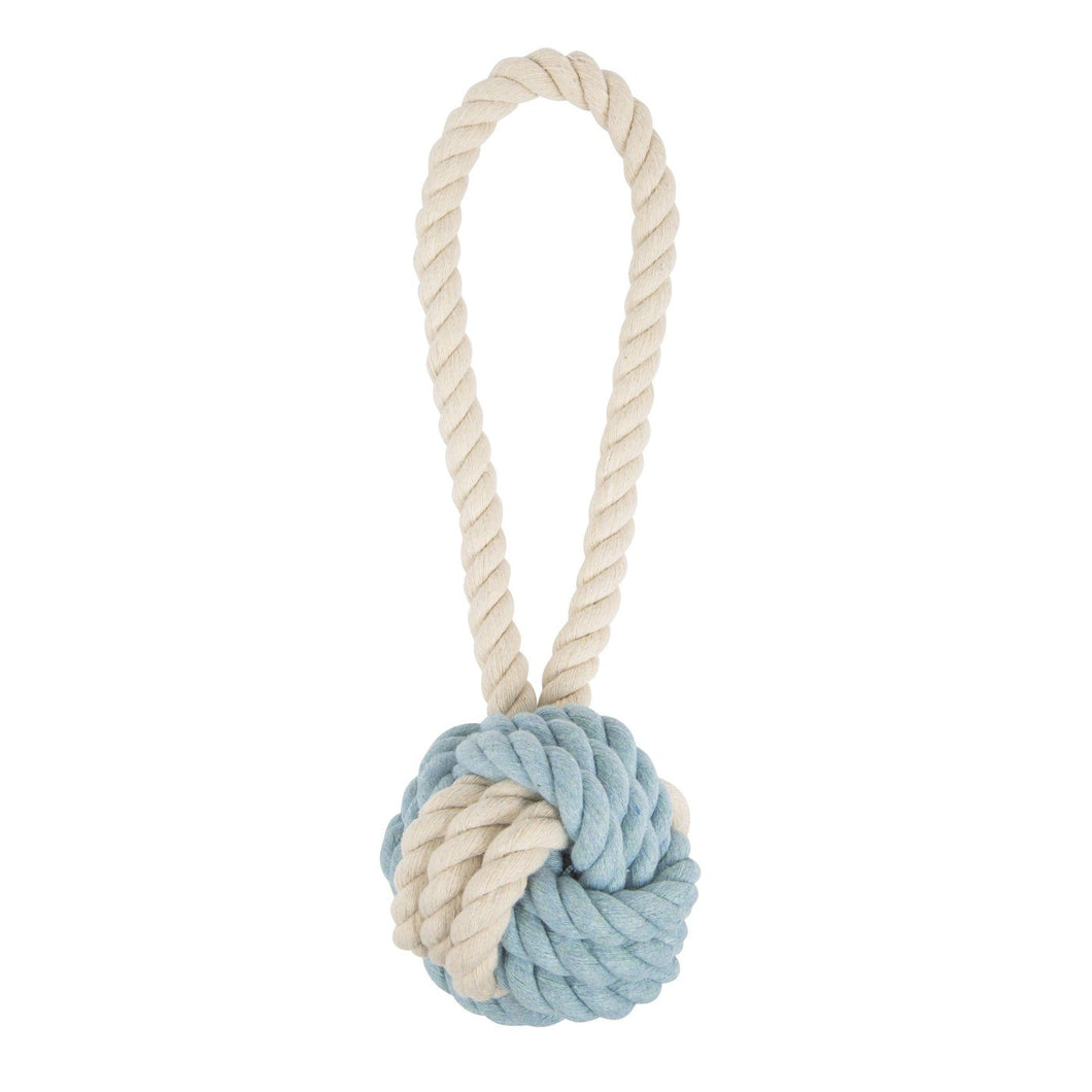 Rope Toy, Large Blue/Natural