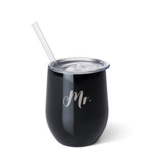 12oz Stemless Wine Mr