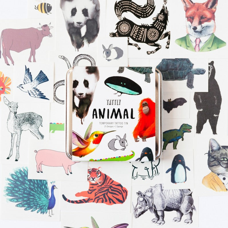 The Animal Tattly Pack