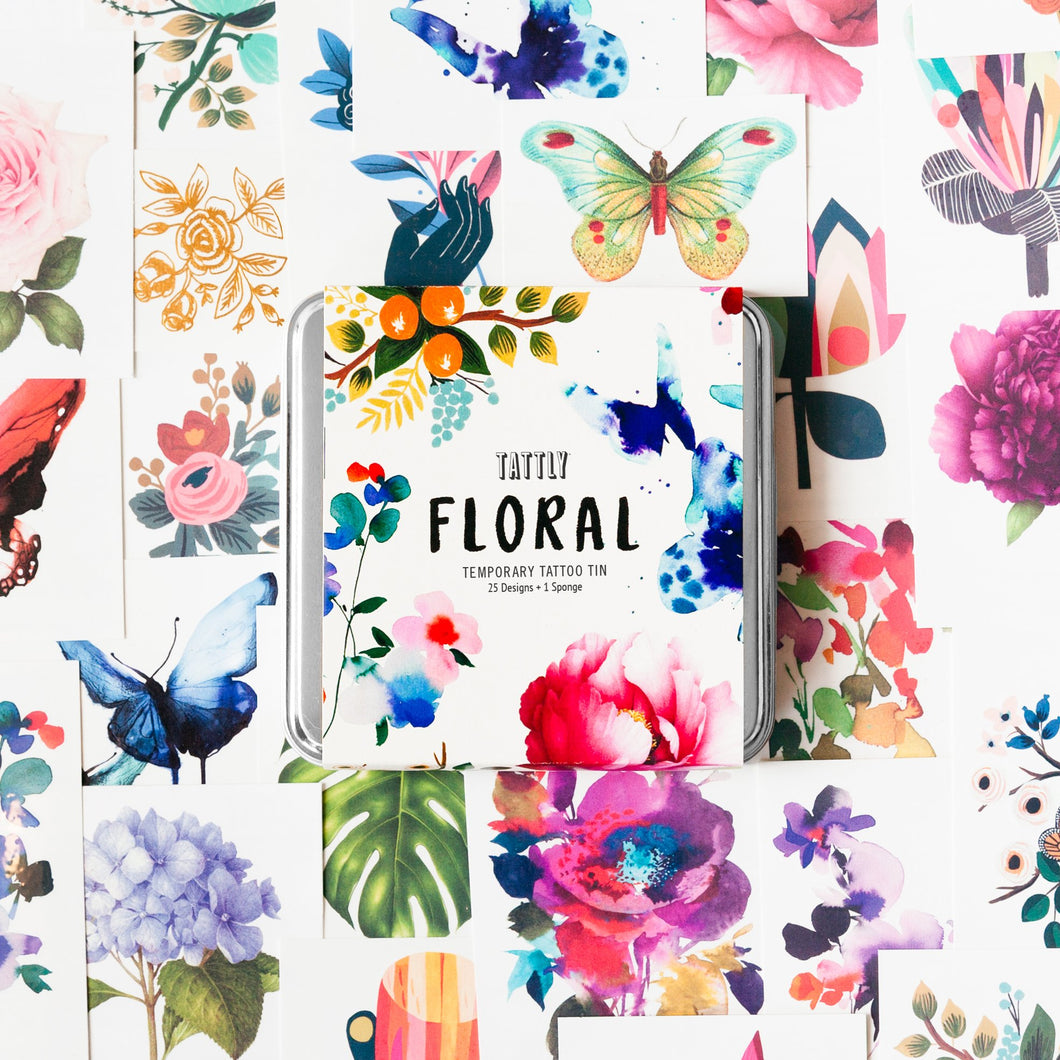 The Floral Tattly Pack