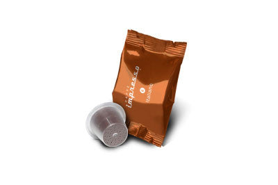 Italiano alternative coffee pods compatible with Nespresso™ machines to make an Espresso