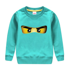 Load image into Gallery viewer, Ninjago cartoon pattern printed cotton spring autumn sweatshirt