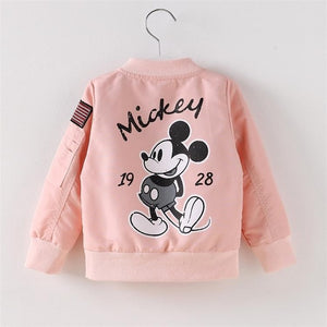 Mickey Jacket Baby Clothes Girls Boys Coat