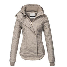 Load image into Gallery viewer, Windproof Hooded Coats Slim Causal Women
