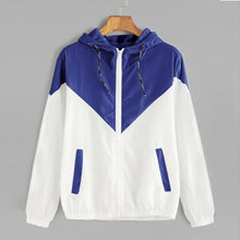 Load image into Gallery viewer, Casual Long Sleeves Coats Autumn Hooded Jacket