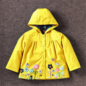 Spring Autumn Fashion Children Raincoat Coat