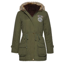 Load image into Gallery viewer, New Parkas Women Winter Coat Thickening Cotton Winter Jacket