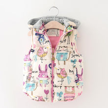 Load image into Gallery viewer, Spring New Fashion Vests Boys&Girls Jacket Cartoon