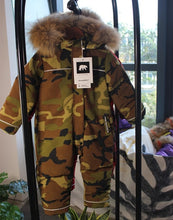 Load image into Gallery viewer, Winter down jacket for girls boys snow wear