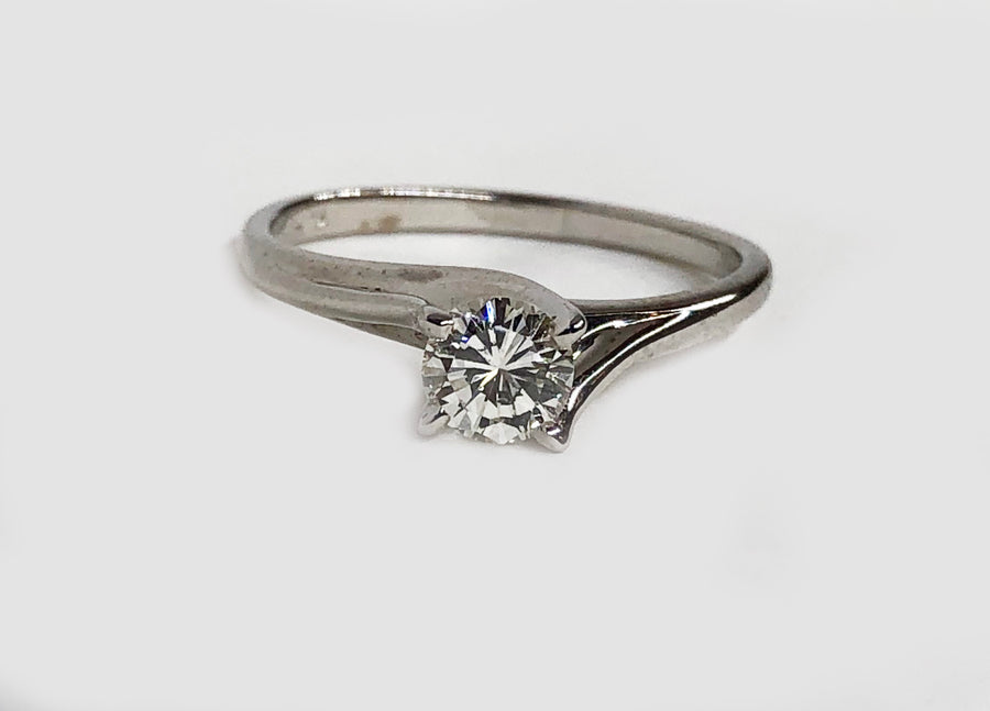 Solitaire Diamond Ring .43ct