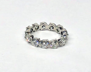 Diamond Eternity Band Platinum 5.0 Cts Tw.