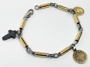 Carminelli Bracelet in 18Karat and Sterling Silver