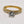 Diamond Engagement Ring 18 Karat Yellow Gold