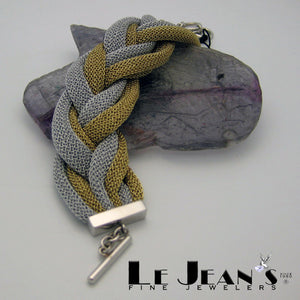Mesh Collection Silver Bracelet