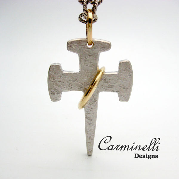 The Way of the Cross Collection Sterling and 14K Yellow Gold