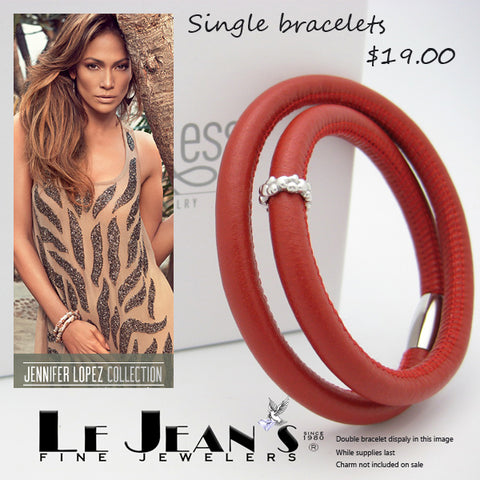Endless Leather Bracelet