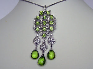Peridot Necklace