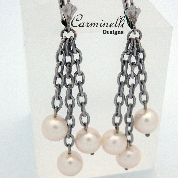 Carminelli Dangle Culture Pearls