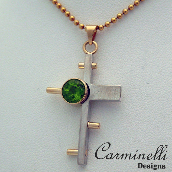 The Way of the Cross Collection Gold, Sterling and Peridot