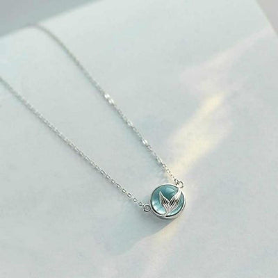 Jewel Of The Sea Mermaid Necklace