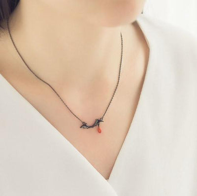 Vampire Bat Necklace