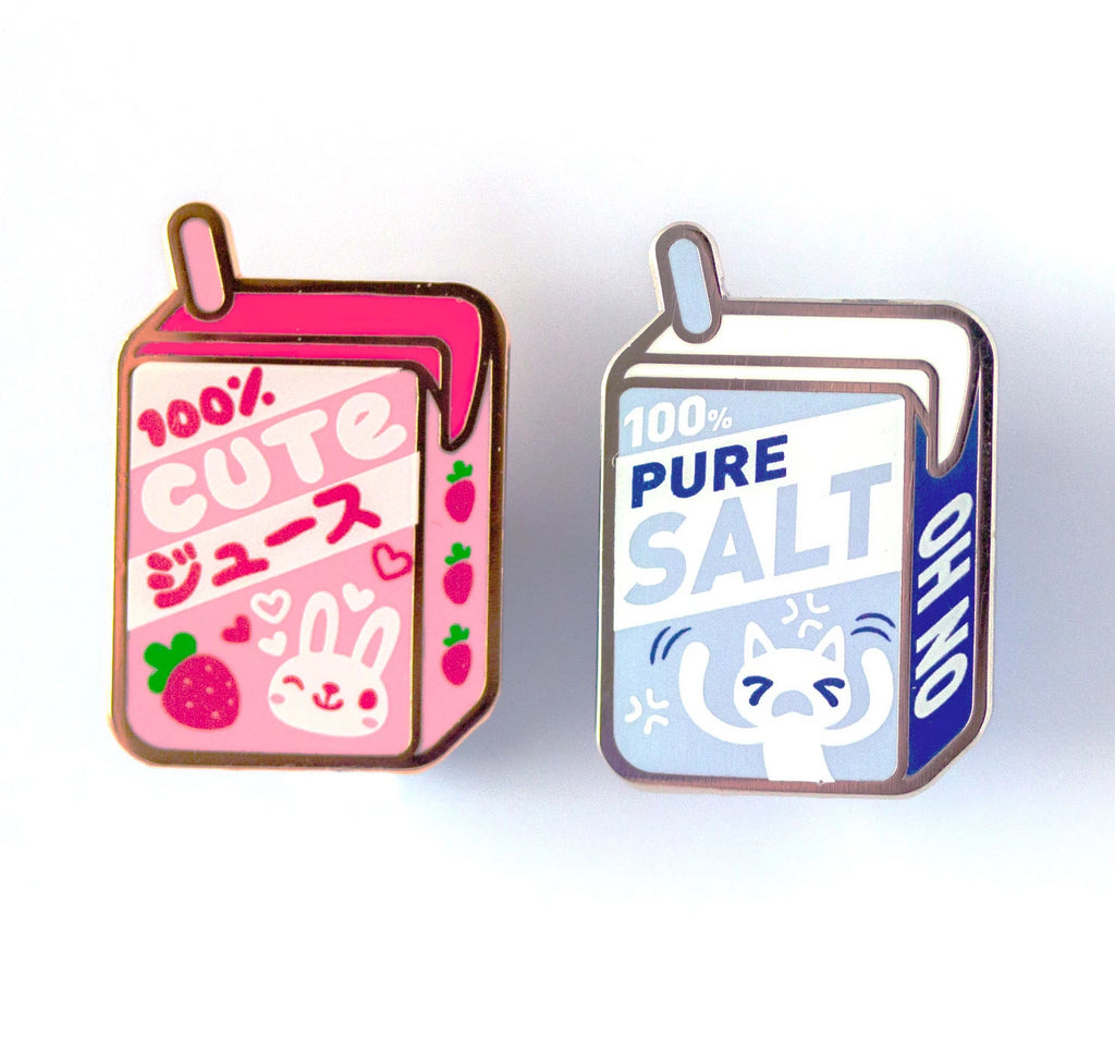 100% Juice Box Pins