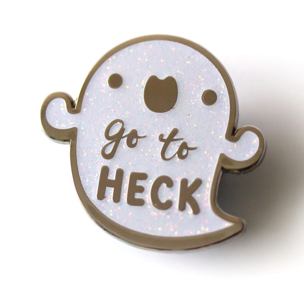 Go to Heck Ghost Pin