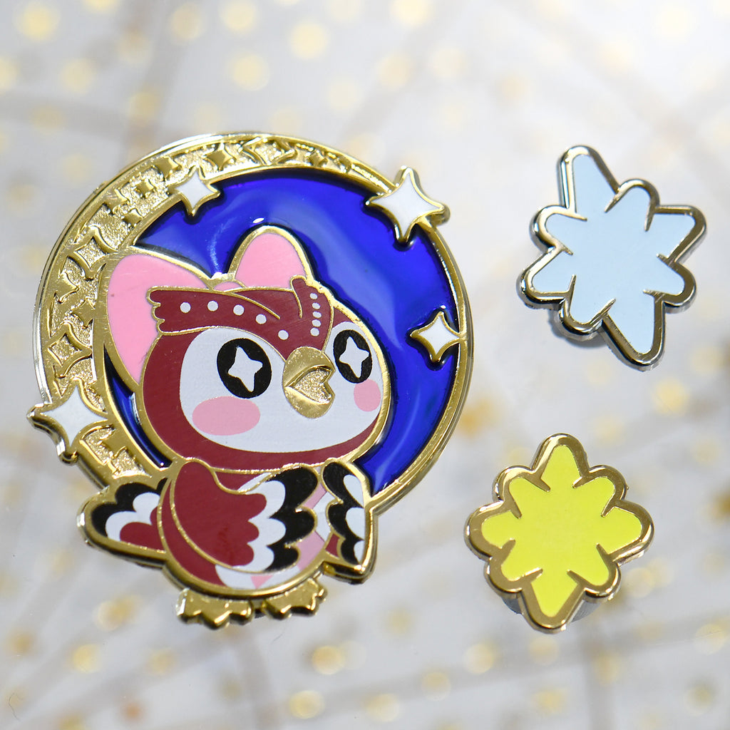 Celeste & Star Fragments Pins
