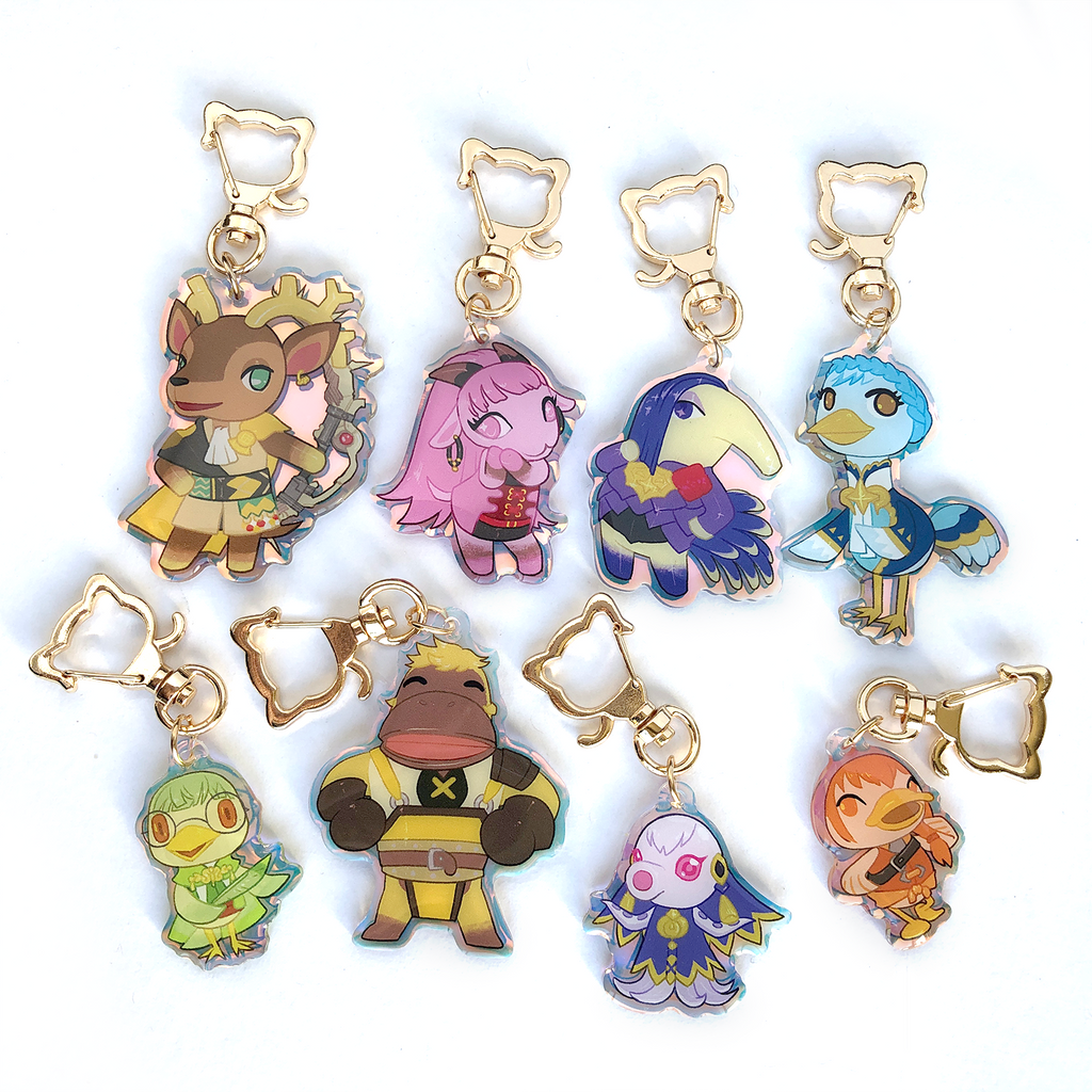 Emblem Crossing Charms